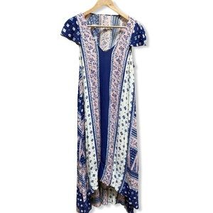Maeve for Anthropologie Midi Floral Dress - XSmall